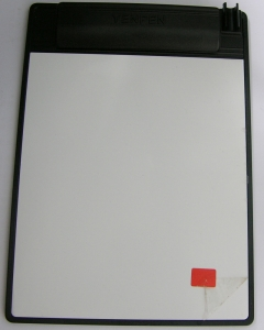 夾紙留言小白板-能吸附於鐵製品ME-007