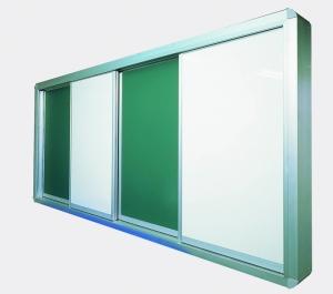 開閉式多層白黑板JIS G3312