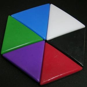 造型磁鐵 三角形磁鐵MGT-3-01