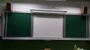 104年11月大豐國小,雙門開閉式綠板