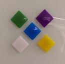 正方型強力磁鐵 使用於玻璃白板
