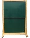 升降可移動式原木雙面綠板SD-100