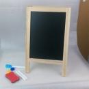桌上型站立式黑白板