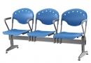 排椅BA-515_紫羅蘭_3人座4扶手