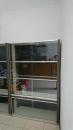 鋁合金活動玻璃置物櫃