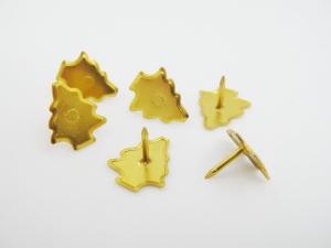 真空電鍍造型圖釘(聖誕樹)