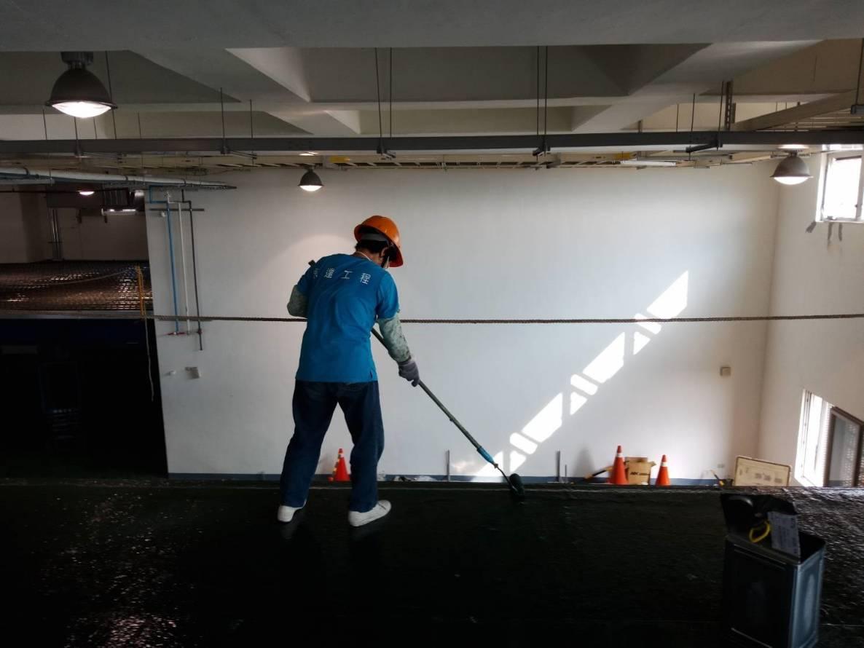 某科技公司  FRP 300# 玻璃纖維施作 (面塗)