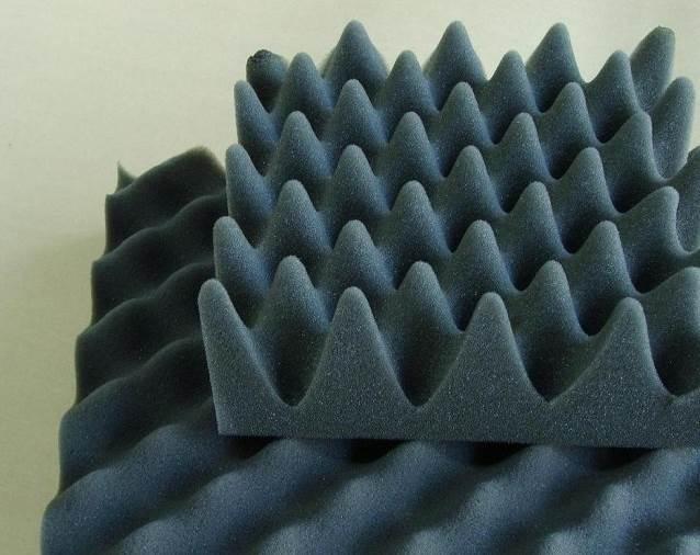 波浪吸音棉/平面吸音棉/耐燃吸音棉