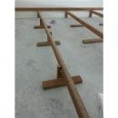 角材架高施工