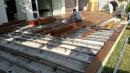埔里緬甸柚木戶外施工
