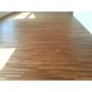 柚木地板施工拼板