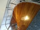 緬甸柚木實木樓梯板施工