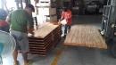 正緬甸柚木實木指接拼板,雙面A料無白邊材