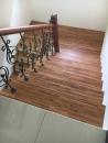 緬甸柚木實木指接拼板,樓梯板施工完成品_180331_0004