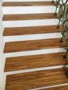 緬甸柚木實木指接拼板,樓梯板施工完成品_180331_0002