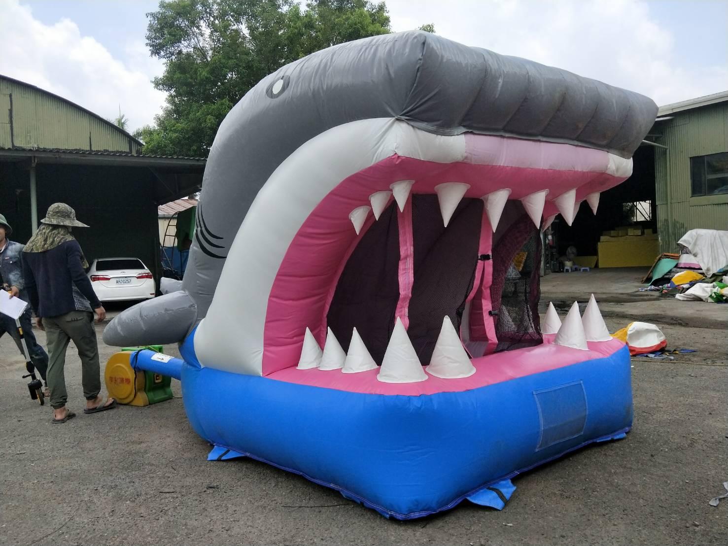 小鯊魚跳床