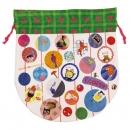 日本ECOUTE!圓形束袋(綠)B017C0141S4830893