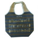 日本Rub a dub dub可收納環保購物袋(海軍藍)B017C0146S3946031