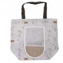 日本Anano café可收納大容量購物袋(淺灰)B017C0173S4830878
