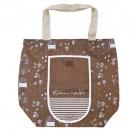 日本Anano café可收納大容量購物袋(咖啡)B017C0175S4830880