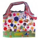 日本ECOUTE!可收納大容量購物袋(馬戲團樣)B017C0181S3626423