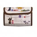 日本ECOUTE!風箱式置卡包(棕色邊)B017C0197S5221864