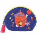 日本ECOUTE!绗縫系列流蘇化妝包B017C0200S4543095