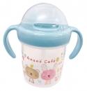 日本Anano café吸管式水杯(藍)B017C0241S3439619