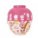 日本Rub a dub dub湯飯碗組(粉色)B017C0245S4996698