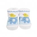 日本Anano café可愛小雞襪子(藍)B017C0248S5660923
