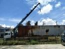 貨櫃屋吊掛移動作業