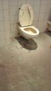 浴室地板水垢