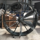 圓型6片式風門-不銹鋼+ETFE