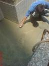 台南抓漏-凹凸處水泥補平