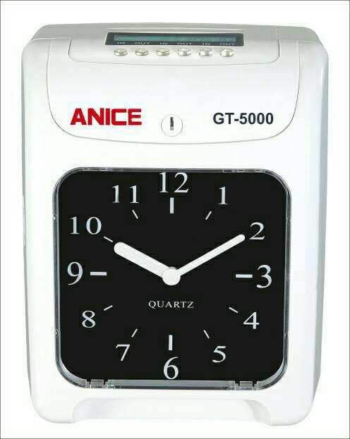 ANICE GT5000六欄位電子打卡鐘