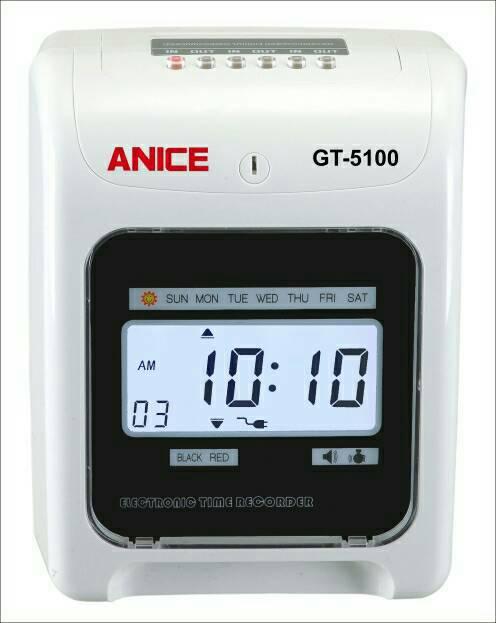 ANICE GT5100六欄位電子打卡