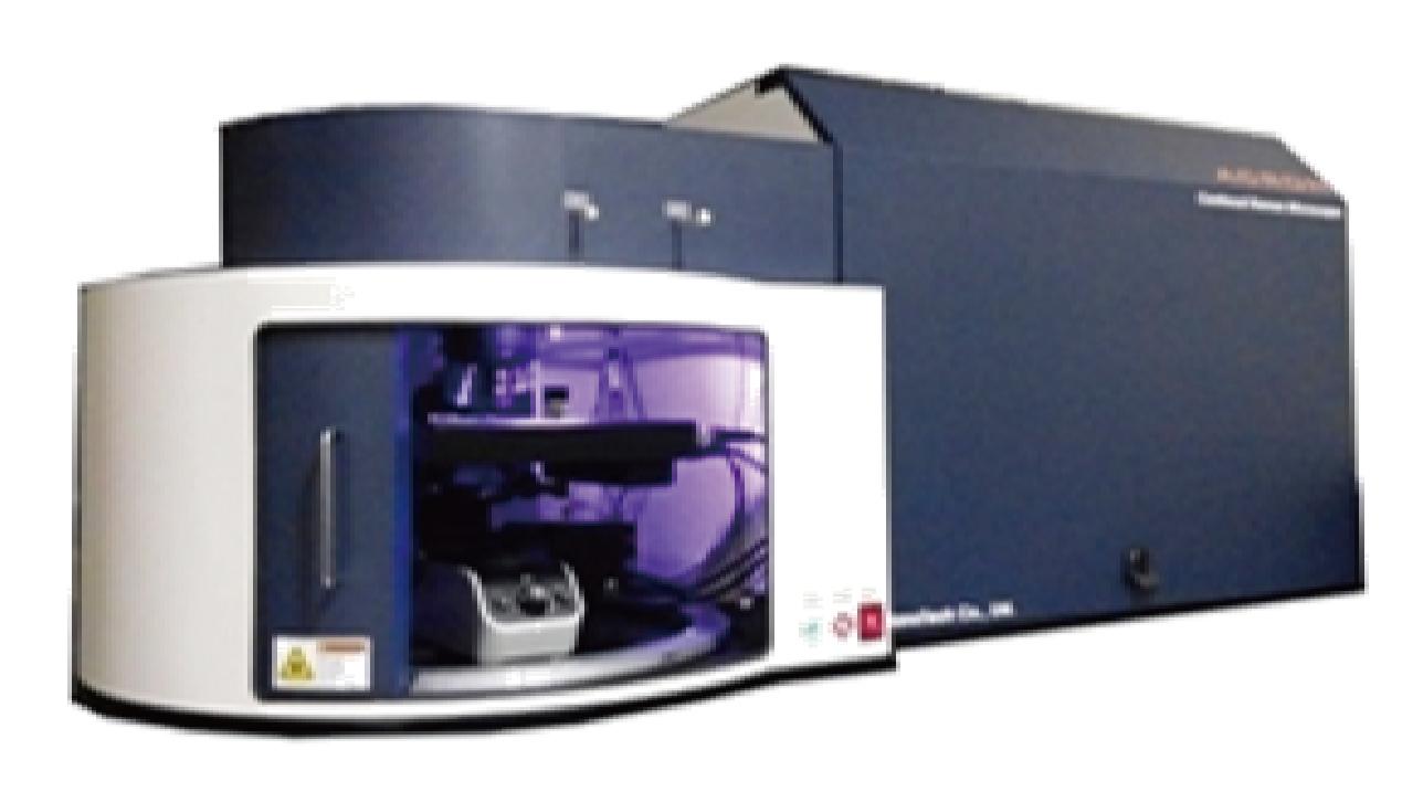 ACRON 全自動顯微共軛焦拉曼/螢光光譜系統