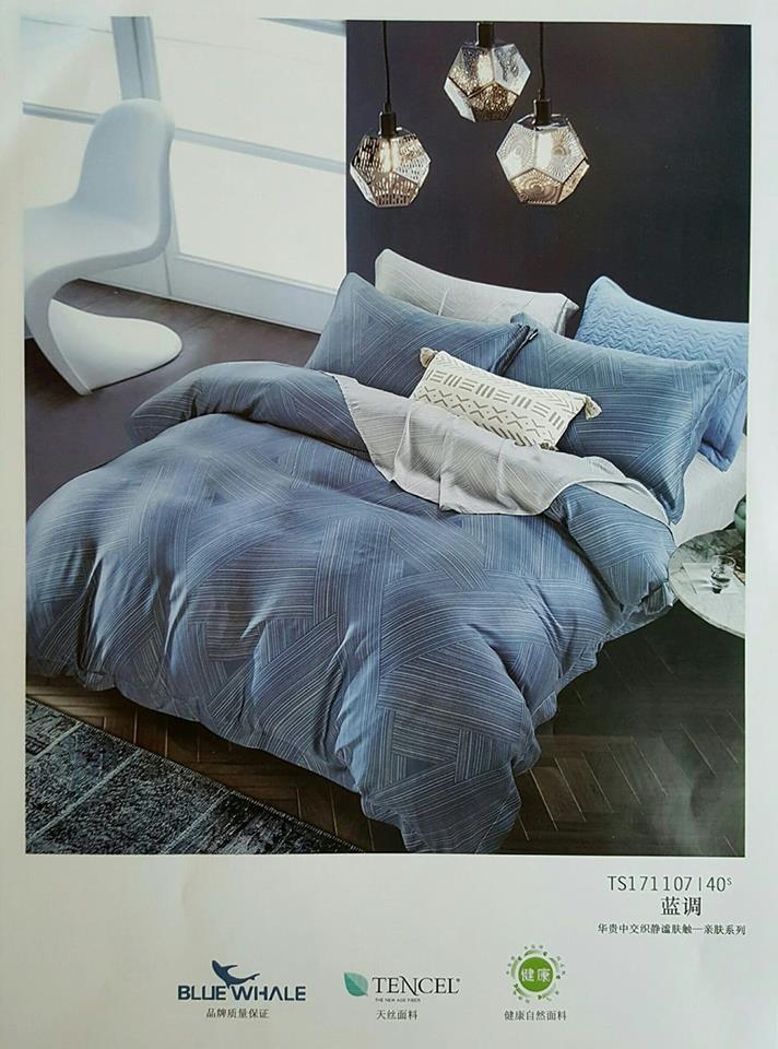 100%天絲(床包+兩用被),(七件式床組)  ,台北天絲床組特價,台北東區買天絲床組  (12)