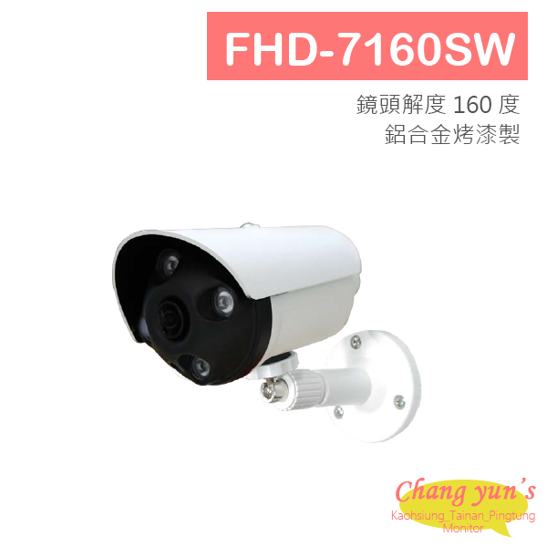 FHD-7160SW 1080P 4合1 HD 160度全景攝影機 四合一攝影機