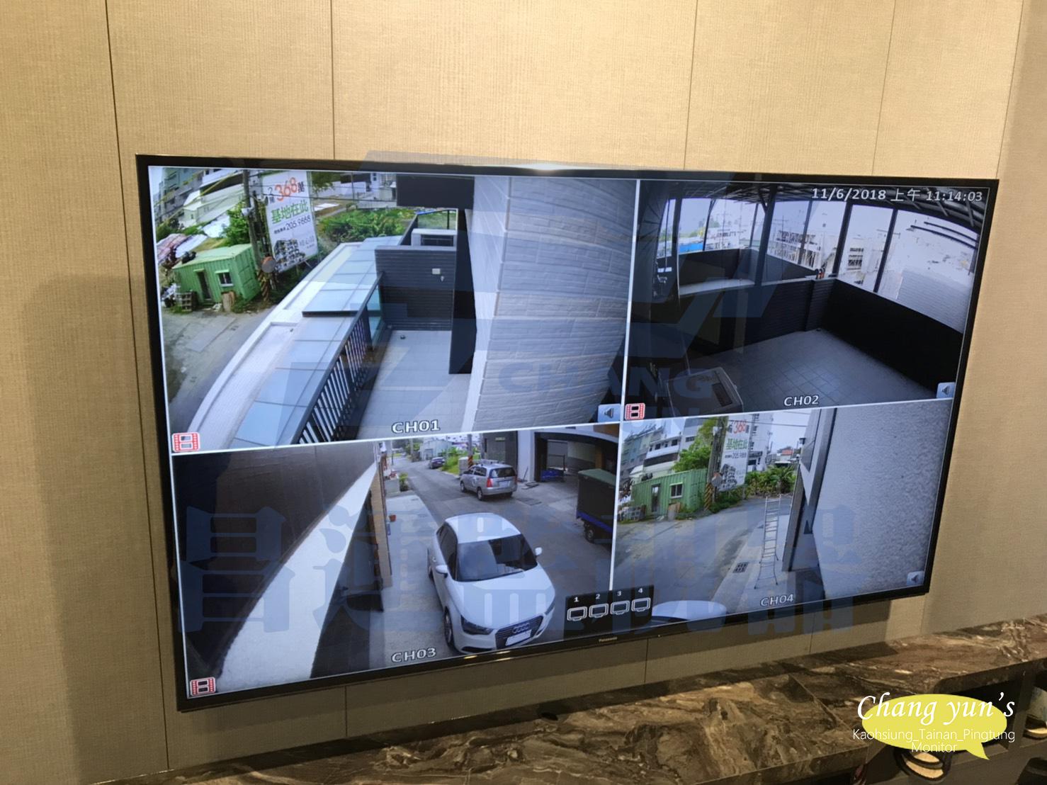 ►台南監視器 200萬高畫數 1080P Full HD 超高解析度◄ 台南市 仁德區 住家 監視器安裝