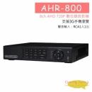 AHR800 8ch AHD 720P監控主機