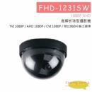 FHD-1231SW 高解析球型攝影機