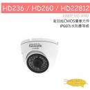HD236 HD260 HD22812 HD-AHD (1080P) 高清國際牌 Panasonic日夜兩用類比2百萬畫素 1080p 戶外半球型攝影機