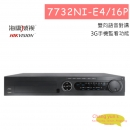 7732NI-E4/16P 32CH RAID NVR 4 HDD+ 16 POEHIKVISION NVR 網路主機 7700 系列
