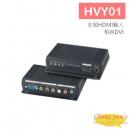 HVY01 HDMI 轉 VGA / YPbPr 與立體聲轉換器