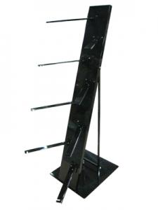 BK-001-2 三角輪胎架(亮光黑)