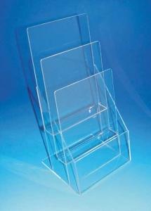 VA-DM-A5 3層壓克力DM盒-A5紙張(透明)