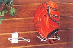 SW-003WH 槽板用棒球手套架 (白色)