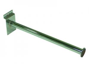 SW-012A 槽板用直式圓管掛衣架(電鍍)