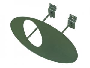SW-065A 槽板用橢圓板鞋架 (鋁色)